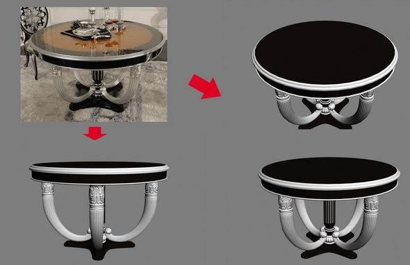 【绝对经典】新古典家具之宫廷壹号家具3D模型!解压后1.07G_依莱圆餐桌.jpg