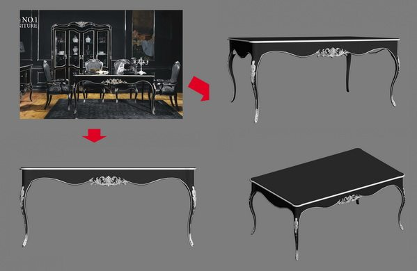 【绝对经典】新古典家具之宫廷壹号家具3D模型!解压后1.07G_银爵深色系列1.8m长餐桌.jpg