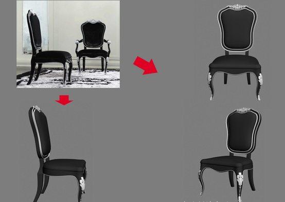 【绝对经典】新古典家具之宫廷壹号家具3D模型!解压后1.07G_银爵深色系列餐椅.jpg