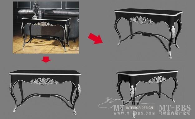 【绝对经典】新古典家具之宫廷壹号家具3D模型!解压后1.07G_银爵深色系列边桌.jpg