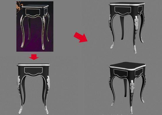 【绝对经典】新古典家具之宫廷壹号家具3D模型!解压后1.07G_银爵深色系列方边几.jpg