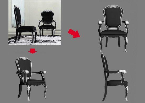 【绝对经典】新古典家具之宫廷壹号家具3D模型!解压后1.07G_银爵深色系列扶手椅.jpg