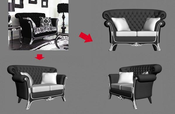 【绝对经典】新古典家具之宫廷壹号家具3D模型!解压后1.07G_银爵深色系列双人沙发.jpg