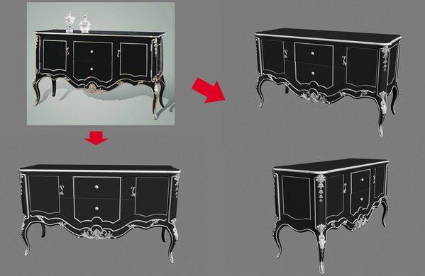 【绝对经典】新古典家具之宫廷壹号家具3D模型!解压后1.07G_银爵深色系列玄关柜.jpg