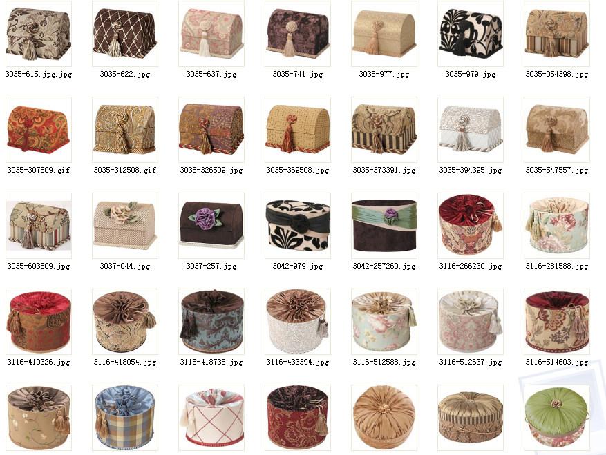 美式软装布艺、床品、饰品、窗帘、家具整合资料——完整套系整适合做方案用_1.jpg
