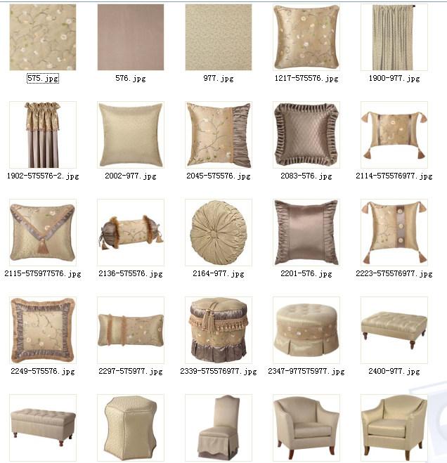 美式软装布艺、床品、饰品、窗帘、家具整合资料——完整套系整适合做方案用_3.jpg