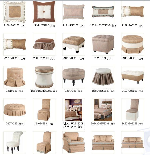 美式软装布艺、床品、饰品、窗帘、家具整合资料——完整套系整适合做方案用_4.jpg