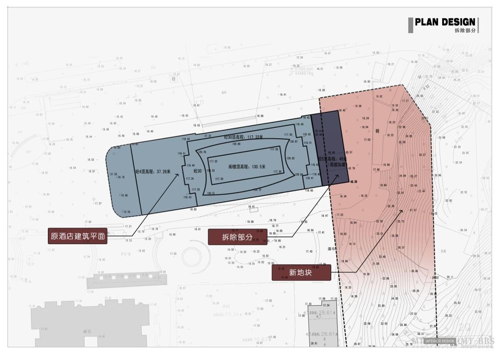 PTL设计公司惠州皇冠假日2011年新作_004 原始平面(拆除部分).jpg