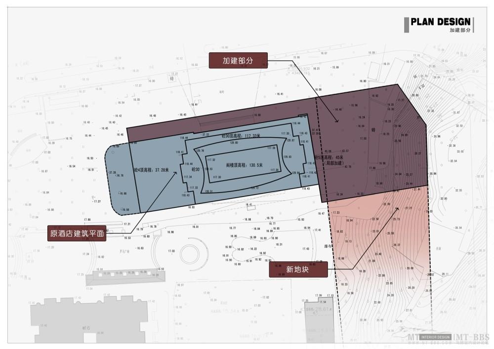 PTL设计公司惠州皇冠假日2011年新作_005 原始平面(加建部分).jpg