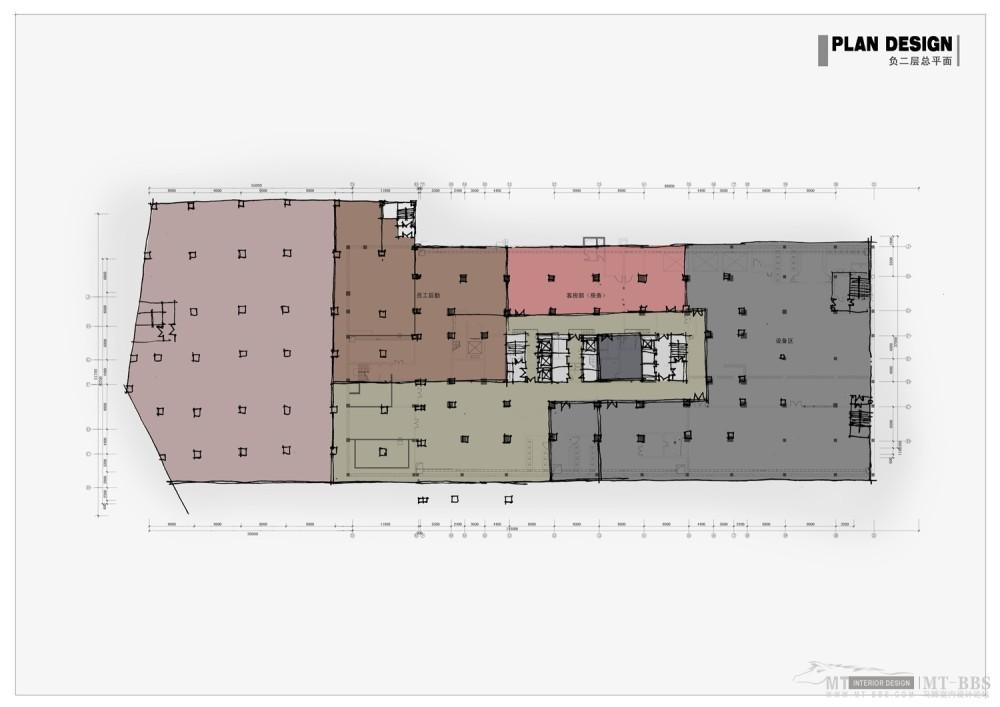 PTL设计公司惠州皇冠假日2011年新作_006负二层平面图.jpg
