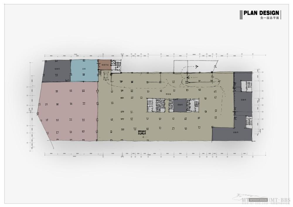 PTL设计公司惠州皇冠假日2011年新作_007负一层平面图.jpg