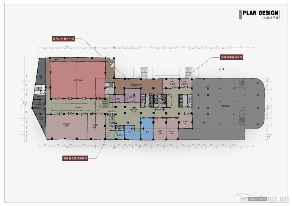 PTL设计公司惠州皇冠假日2011年新作_011 三层平面图.jpg