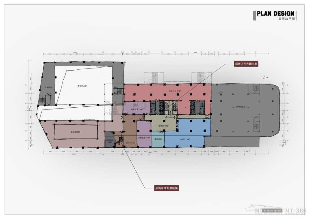 PTL设计公司惠州皇冠假日2011年新作_012 四层平面图.jpg