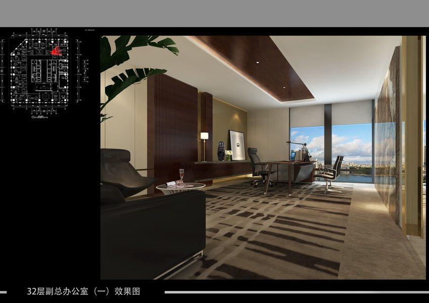 原创另类 房地产公司办工室_29 32层副总办公室(一)效果图_调整大小.jpg
