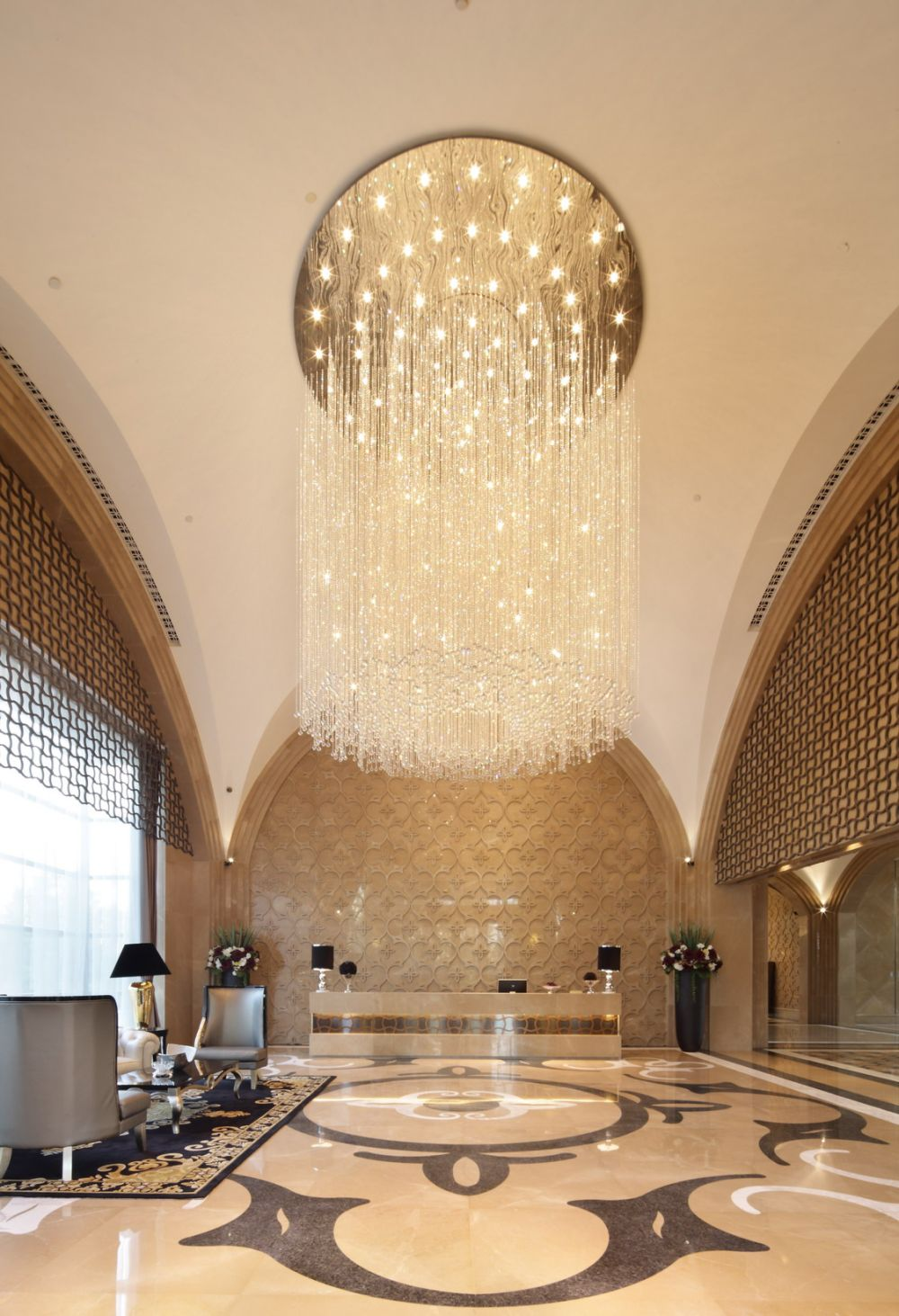 琚宾 2011年设计作品集_会所大堂服务中心区接待.jpg
