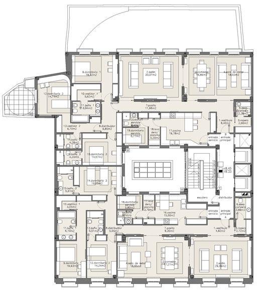 西班牙马德里老建筑公寓室内设计改造_IMG2011021861675340.jpg