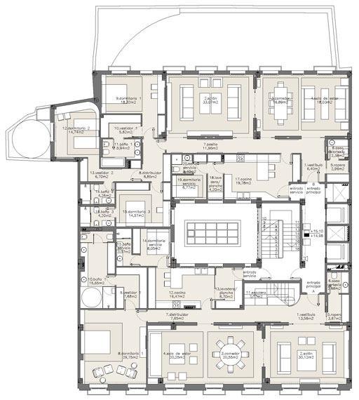 西班牙马德里老建筑公寓室内设计改造_IMG2011021861681293.jpg