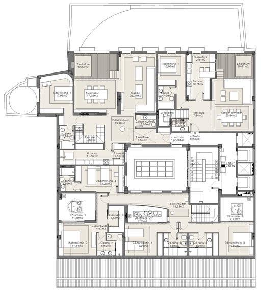 西班牙马德里老建筑公寓室内设计改造_IMG2011021861684247.jpg