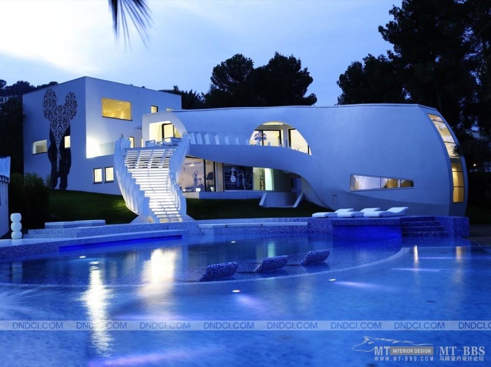 世界级现代豪华别墅:马略卡岛Casa Son Vida 1_MD559ff7e76357381e9.jpg