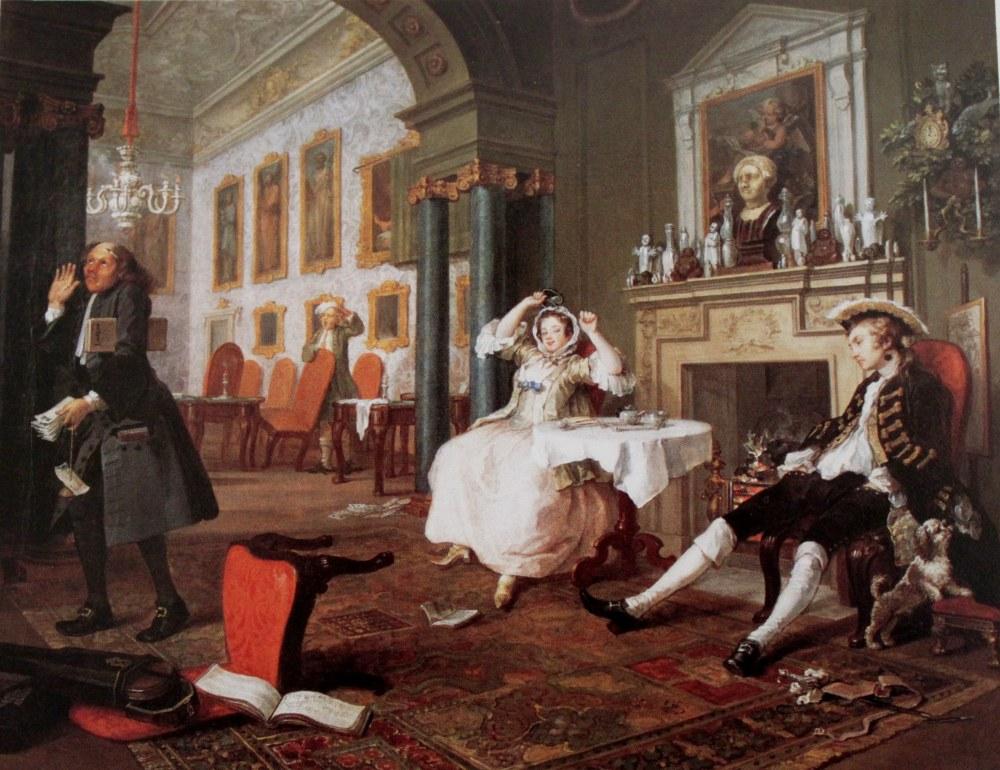 室内油画 婚礼
