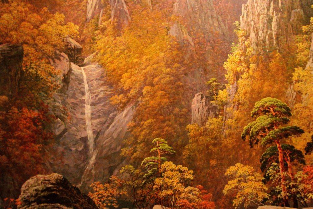 朝鲜金刚山秋(油画)1.jpg