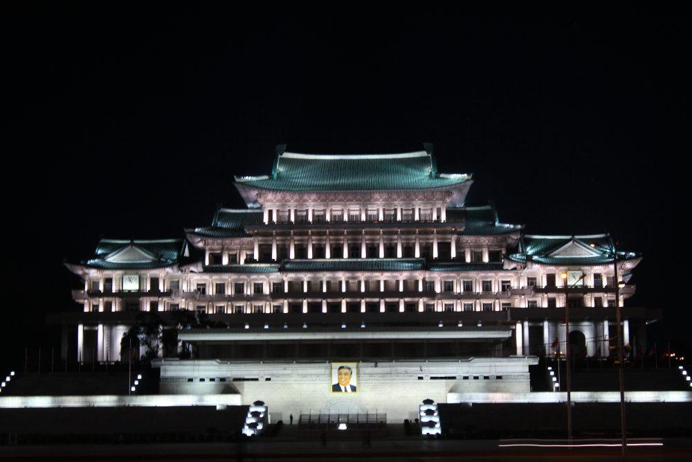 平壤金日成广场之夜2.jpg