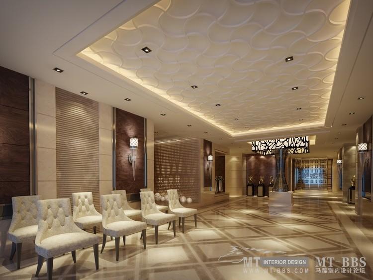 酒店的部分空间效果图(附模型,材质)_等候区副本.jpg