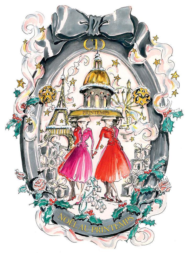 法国Boulevard Haussmann大道Dior圣诞夜_printemps-dior-pop-up-2012-yatzer-a.jpg