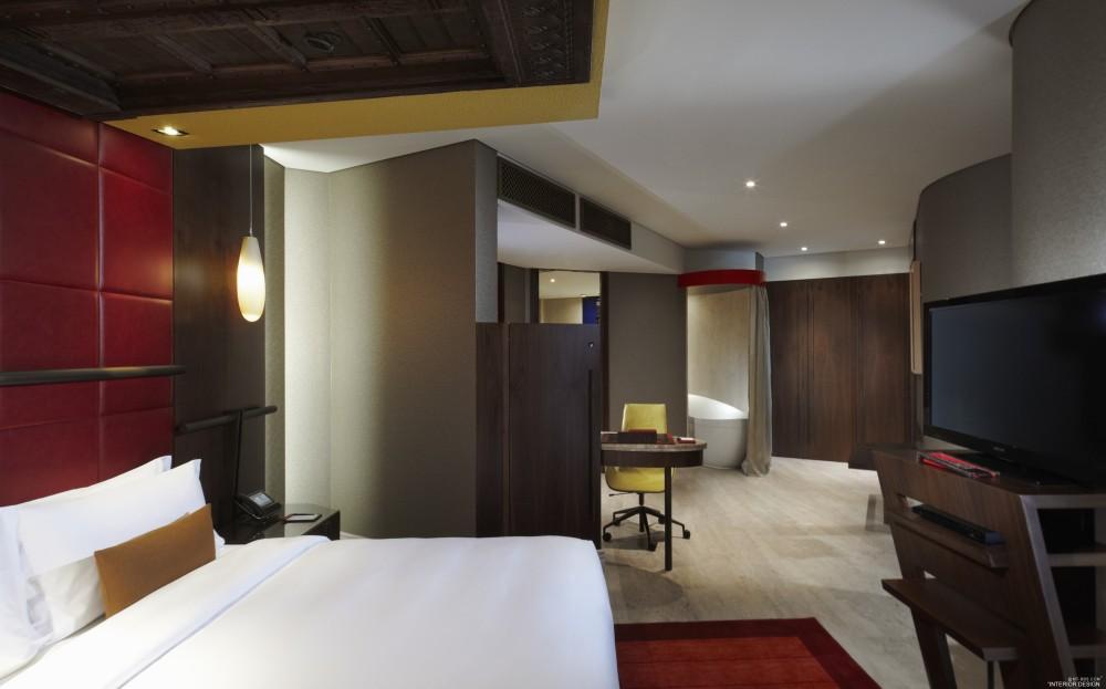 迪拜卓美亚溪畔酒店 Jumeirah Creekside Hotel_Jumeirah_Creekside_Hotel_-_Duplex_Suite_-_Bedroom.jpg