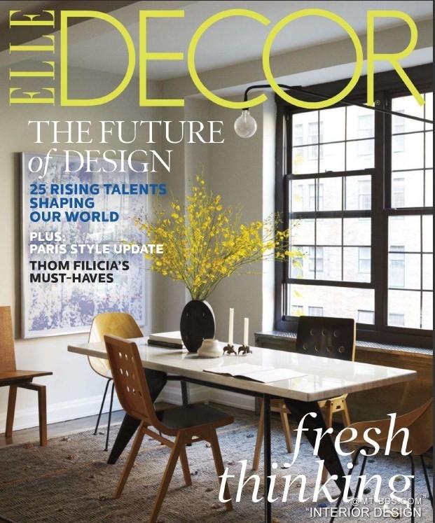 最新国外室内杂志Elle_decor_1303-法国版PDF格式_0.jpg