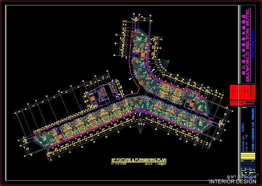 CCD-深圳蛇口希尔顿全部客房施工图.电梯厅.样板房照片2012_8.jpg