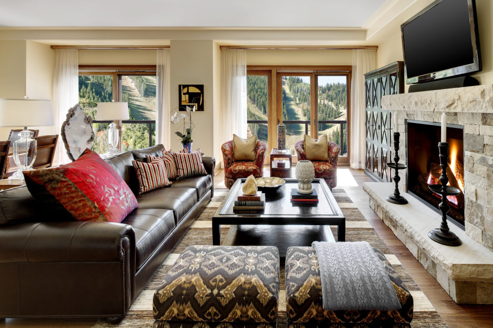 犹他州鹿谷瑞吉酒店The St. Regis Deer Valley, Utah (..._The St. Regis Deer Valley—Presidential Residence Living Room.jpg