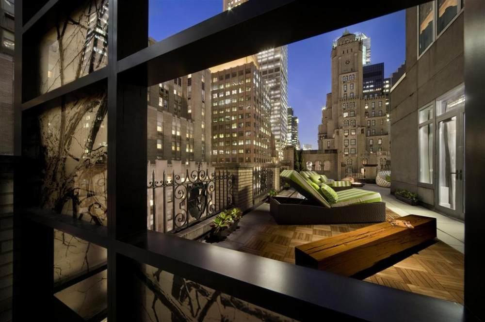 全球45家W酒店官方专业摄影_W New York—Extreme Wow Suite Terrace.jpg