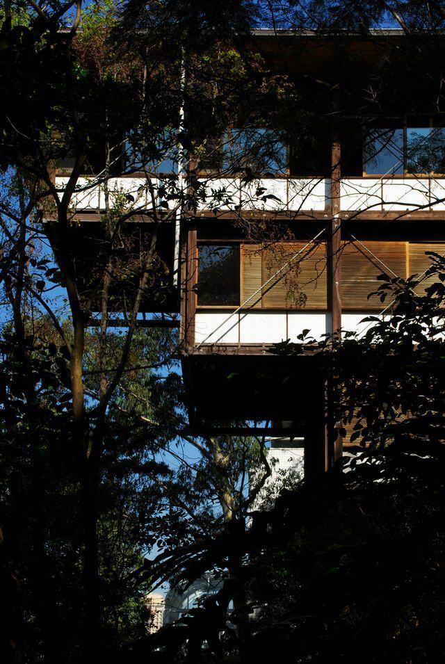巴西圣保罗Helio Olga住宅 Helio Olga house by Marcos Acayaba_Helio-Olga-house-3.jpg