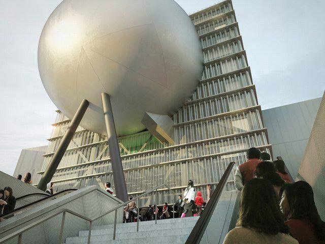 台北表演艺术中心(Taipei Performing Arts Center) by OMA_tpac03.jpg