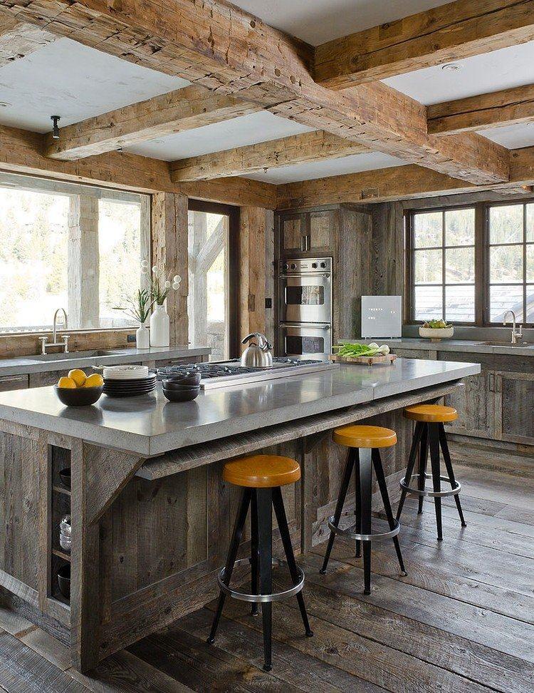 美国蒙大拿州--The Rustic Redux Project_interior-rustic-residence.jpg