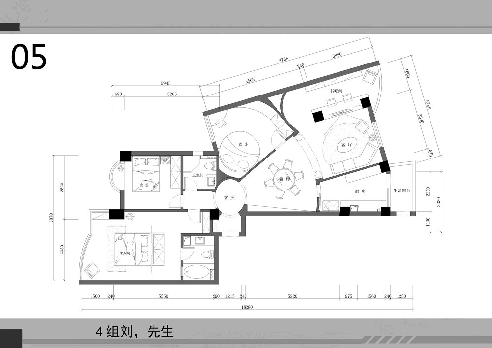 【第一期-住宅平面优化】一个奇异户型13个方案,求投票+点评_05.jpg
