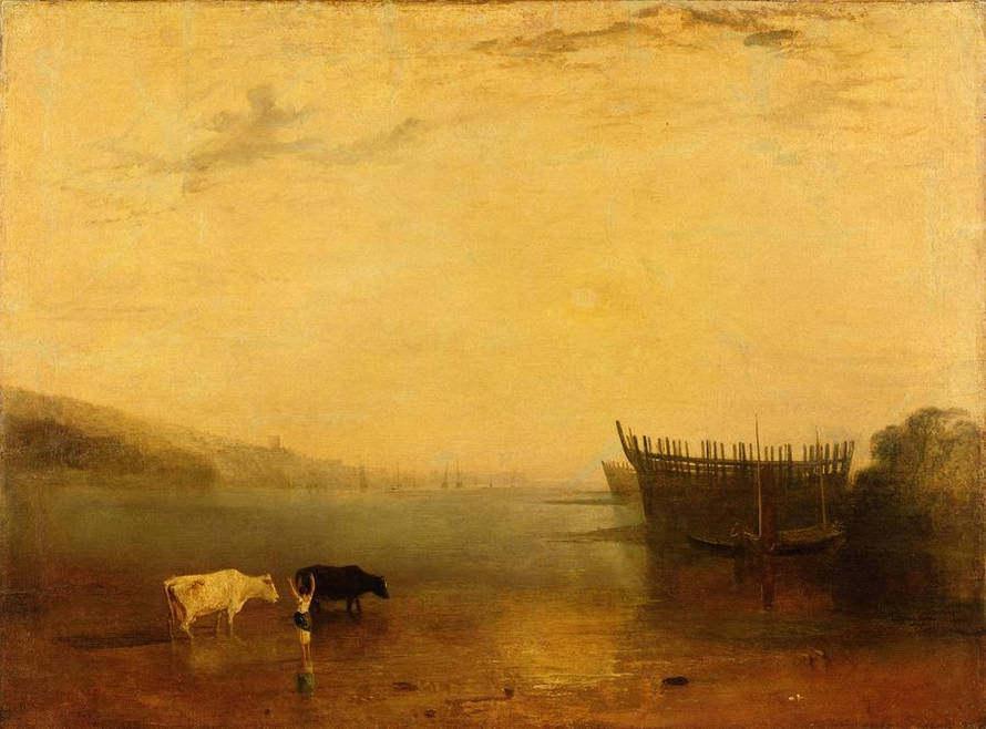 【免费分享】威廉透纳 风景油画 可做挂画方案_134986195333.jpg