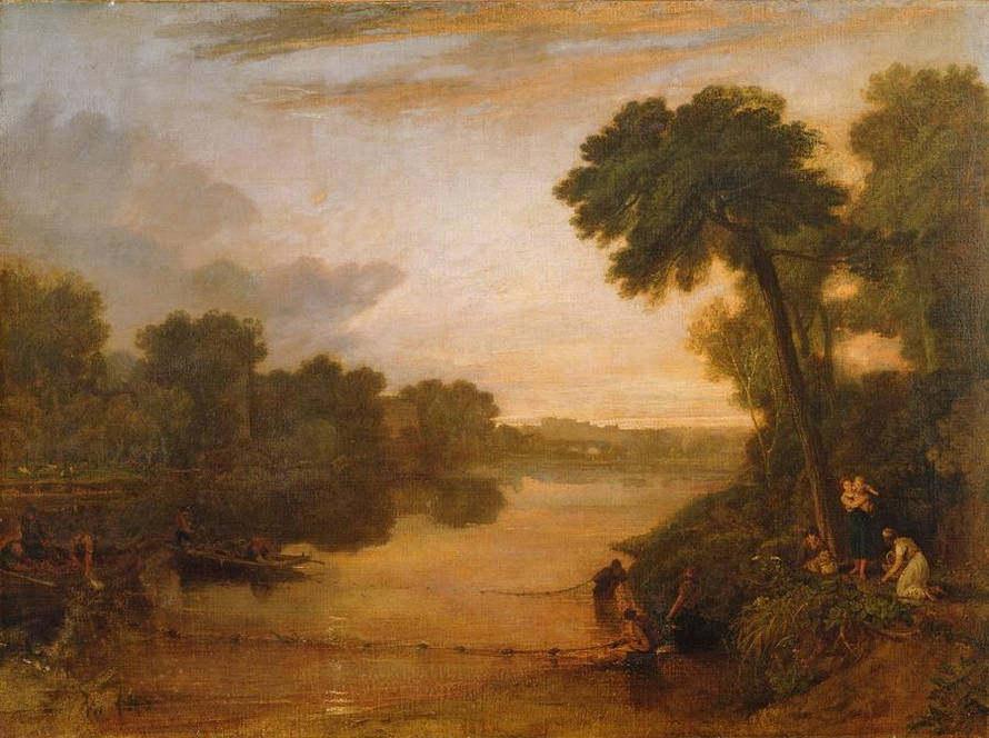 【免费分享】威廉透纳 风景油画 可做挂画方案_134986215919.jpg