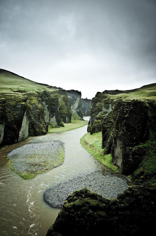 Fjadrargljufur谷,冰岛