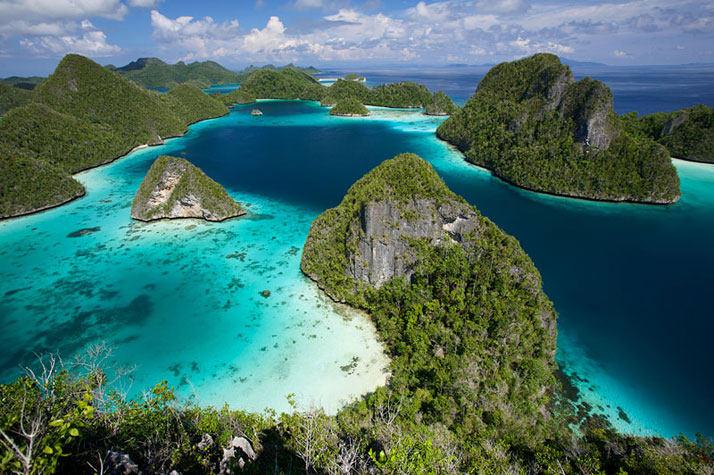 拉贾Ampat群岛,西巴布亚、印度尼西亚