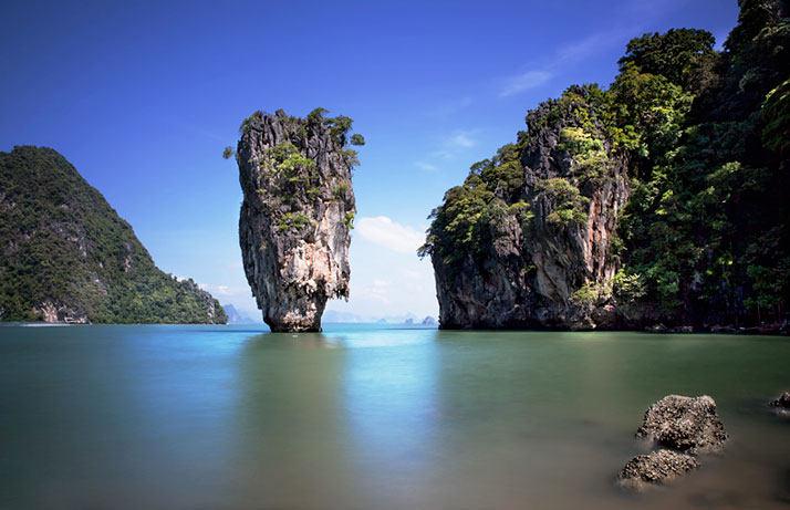 詹姆斯·邦德岛,和尚Phing菅直人、泰国