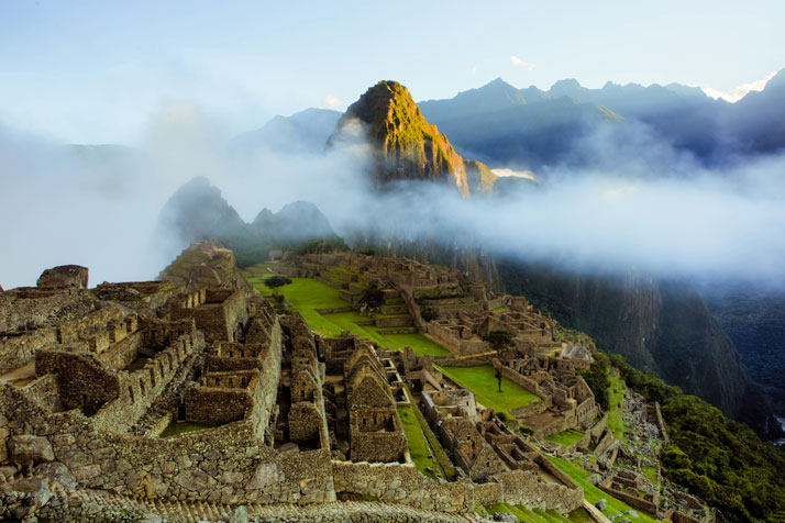 马丘比丘城(秘鲁