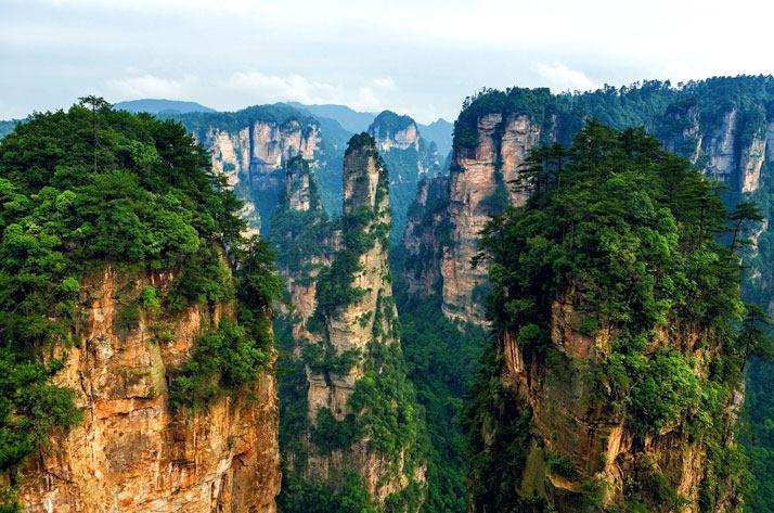 国家森林公园张家界城市湖南省北部,中国。