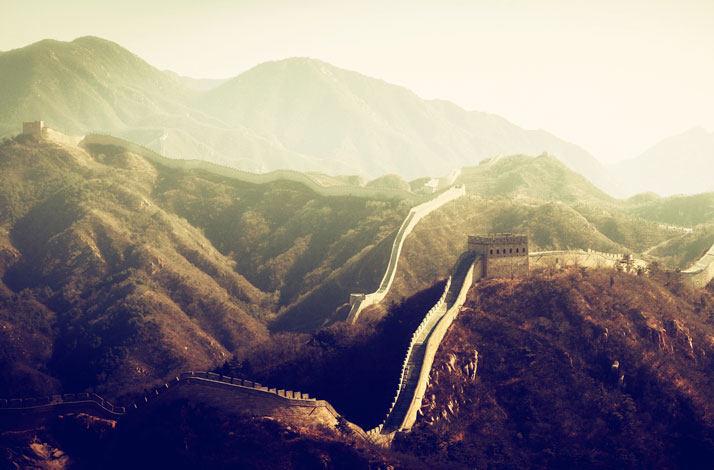 中国的万里长城八达岭长城