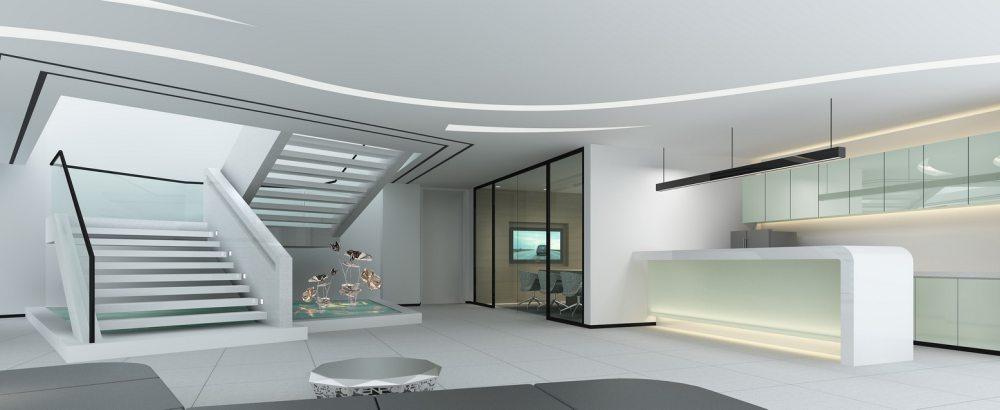 江天伦(JDD经典)—卡蔓中心外立面改造及内部空间设计_九层休闲区