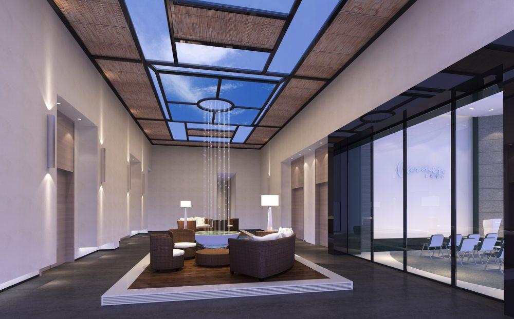 江天伦(JDD经典)—卡蔓中心外立面改造及内部空间设计_十一层休闲区