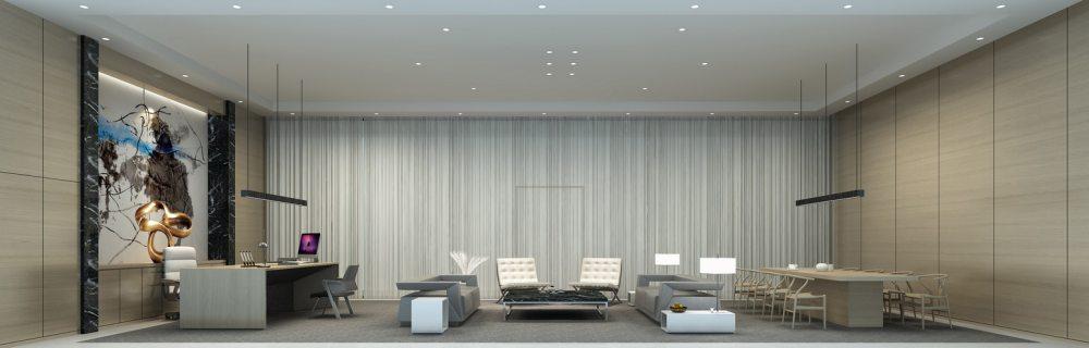 江天伦(JDD经典)—卡蔓中心外立面改造及内部空间设计_十一层总经理办公室