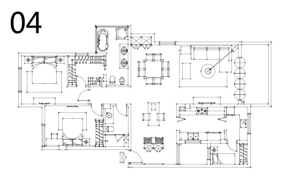 【第二期-住宅平面优化】同一户型19个方案,求投票+点评_04.jpg