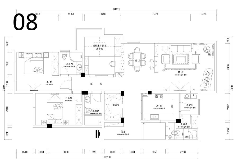 【第二期-住宅平面优化】同一户型19个方案,求投票+点评_08.jpg